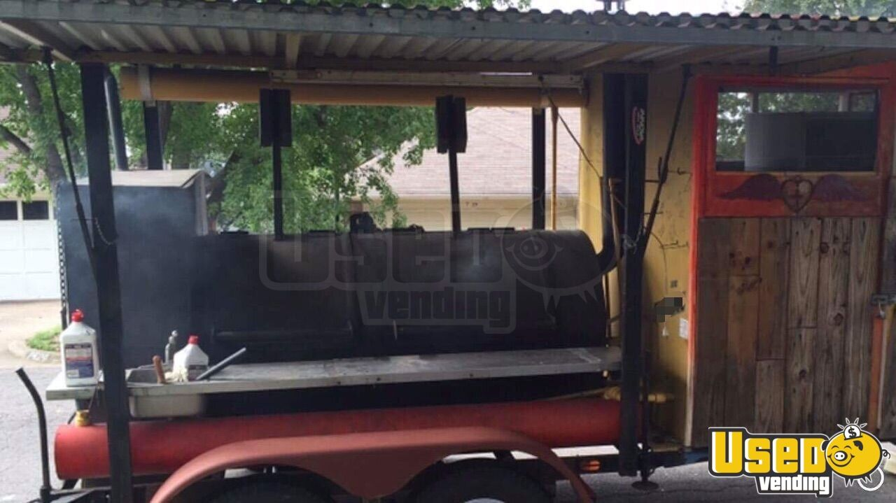 Barbecue Food Trailer Steam Table Texas for Sale - 7
