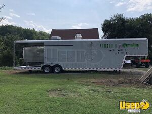 8' x 38' BBQ Concession Trailer with Porch for Sale in Tennessee!!!
