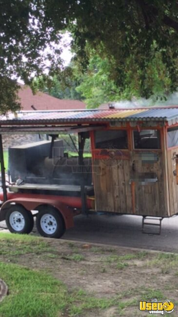 Barbecue Food Trailer Texas for Sale