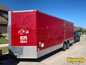 22' Barbecue Concession Unit / Food Concession Trailer w/ Porch for Sale in Texas!!