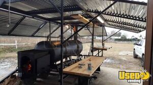 2017 - 16' BBQ Smoker Pit Concession Trailer for Sale in Texas!!!