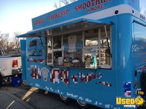 2005 Fiber Core 8' x 12' Coffee Concession Trailer / Used Mobile Cafe for Sale in California!