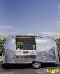 Fully Self-Contained and Turnkey Traveler Airstream Mobile Bar with Restroom for Sale in California!