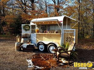 1972 - 6.3' x 12' Vintage Horse Trailer Mobile Wine Beverage Bar Conversion for Sale in Michigan!