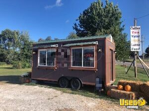 2017 8' x 20' Cabin Style Cute Coffee Concession Trailer for Sale in Missouri!!!