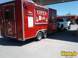 2015 8' x 18' Cargo Craft Expedition Coffee Concession Trailer/Mobile Food Unit for Sale in Montana!