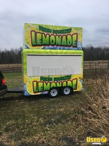 Unused 7' x 10' Lemonade Concession Trailer / Remodeled Mobile Beverage Unit for Sale in New York!
