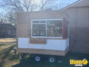 Turnkey 2018 8' x 10' Walk-In Freezer Conversion Coffee & Shaved Ice Trailer for Sale in Oklahoma!