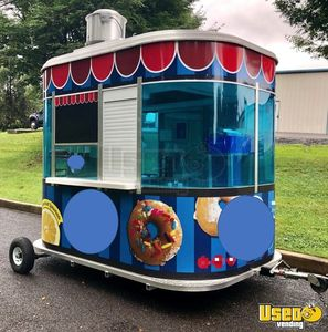 Lightly Used 2018 - 8' x 10' Snowie Beverage and Coffee Concession Trailer for Sale in Pennsylvania!