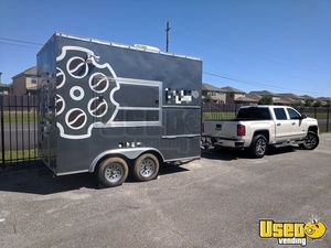 2016 8.5' x 12' Cross Trailers Coffee Vending Concession Trailer/Used Mobile Cafe for Sale in Texas!