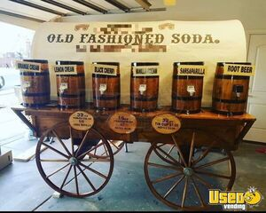 Turnkey Chuck Wagon Style Old Fashioned Soda Business w/ Transport Trailer for Sale in Utah!