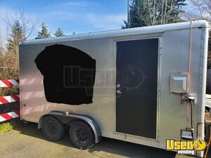 Licensed 2001 8.5' x 16' Wells Cargo Coffee Concession Trailer for Sale in Washington!
