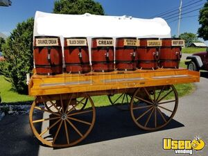 2009-5.5' x 8' Soda Wagon Beverage Concession Trailer for Sale in West Virginia!