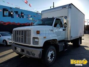 (3) Fleet-Maintained Used GMC Kodiak C6500 14' Box Trucks for Sale in New Mexico!