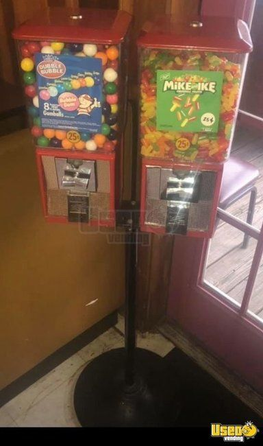 Bulk Candy / Gumball Vending Machine Route 2 Mississippi for Sale
