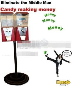 Oak Bulk Candy Vending Machines for Sale in California- 9 New in Box!