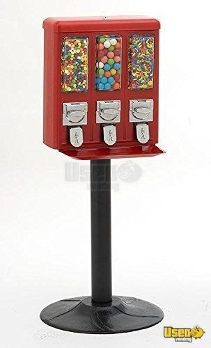Routemaster Triple Head Bulk Candy Vending Machines for Sale in Florida!