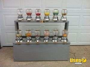 (12) Vendmax Bulk Candy Vending Machines on Stand for Sale in Winnipeg!!!