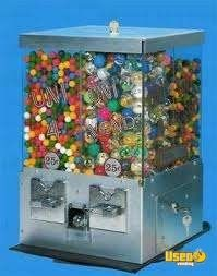 (9) - Univend Bulk Candy Vending Machines!!