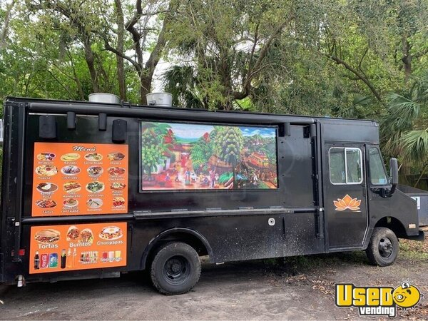 Camion Kitchen Food Truck All-purpose Food Truck Florida Gas Engine for Sale