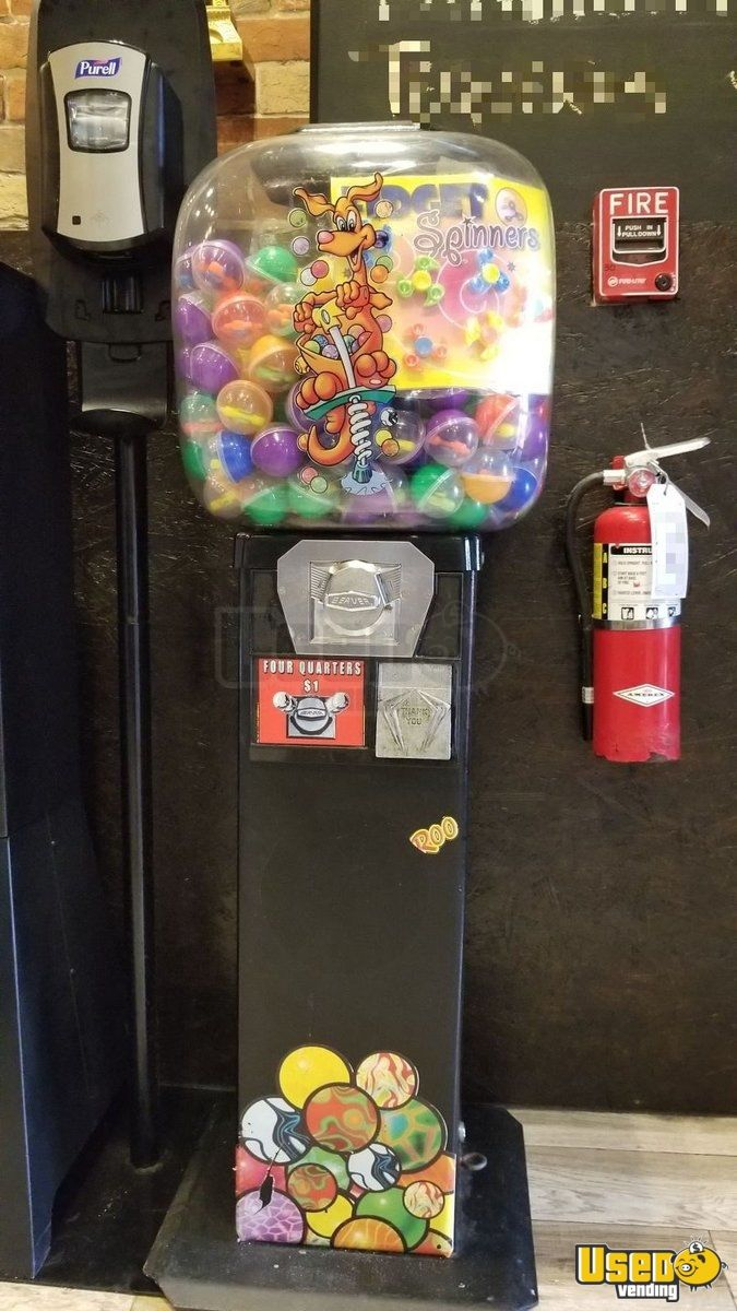 Candy / Capsule Rack Vending Machine 2 Florida for Sale - 2