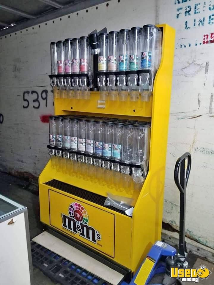 Candy / Capsule Rack Vending Machine 2 Indiana for Sale - 2