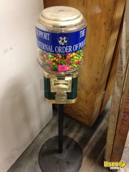 Candy / Capsule Rack Vending Machine 2 Indiana for Sale