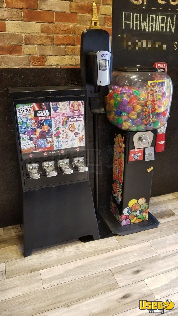 Candy / Capsule Rack Vending Machine 3 Florida for Sale - 3