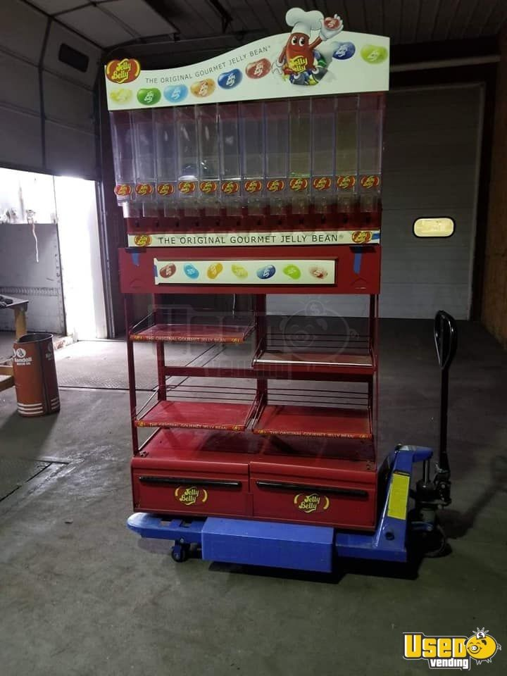 Candy / Capsule Rack Vending Machine 3 Indiana for Sale - 3