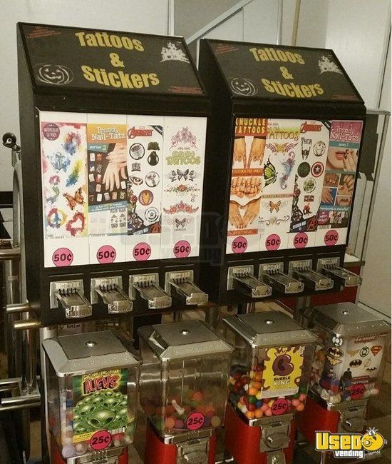 25 Bulk Candy / Toy / Capsule Vending Machines & Racks for Sale in California!