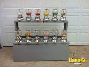 Candy / Capsule Rack Vending Machine Manitoba for Sale