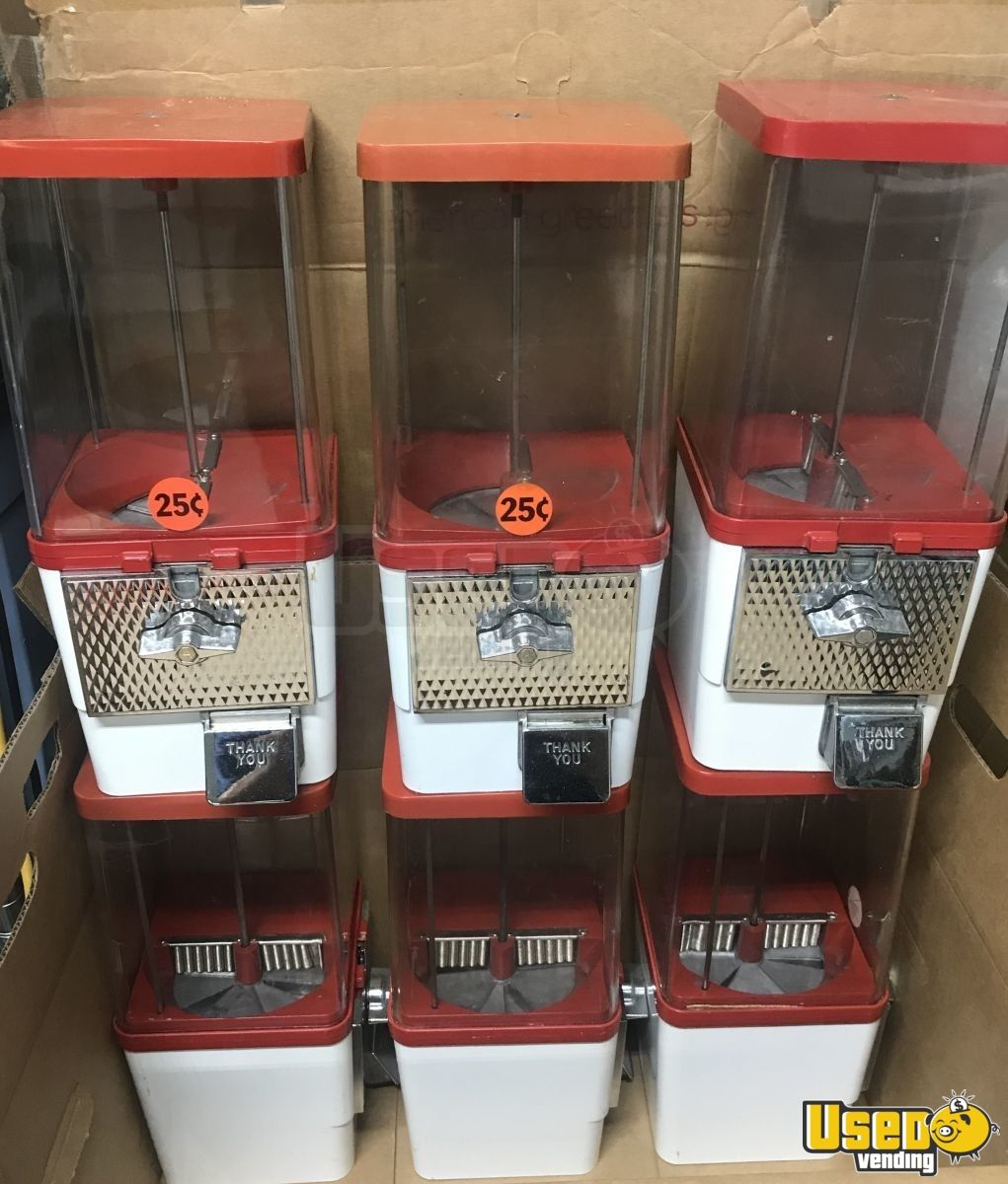 Used Trucks For Sale In Nc >> Komet King Koin Bulk Candy Vending Machines for Sale in ...
