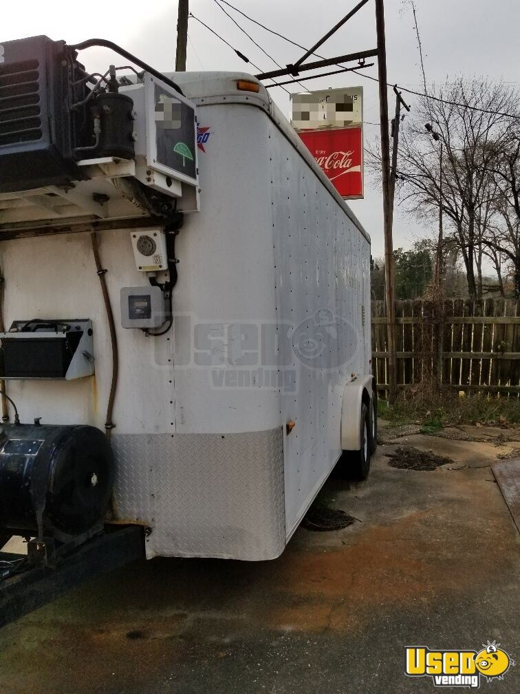 Carrier Concession Trailer Insulated Walls Texas Diesel Engine for Sale - 4