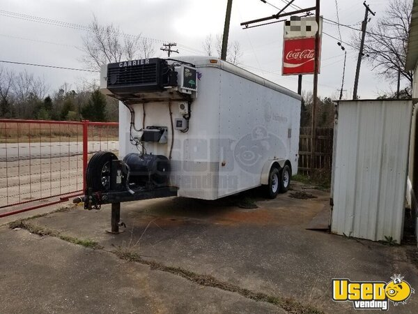 Carrier Concession Trailer Texas Diesel Engine for Sale