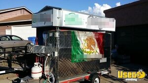 4.5' x 12' Towable Street Food Cart for Sale in Arizona!