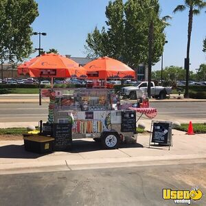 2016 - 4' x 6' Hot Dog / Food Vending Cart for Sale in California!!!