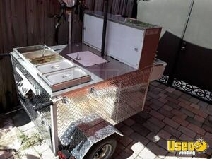Lightly Used 2019 4.4' x 4.7' Hot Dog Cart/Very Clean Street Food Vending Cart for Sale in Florida!