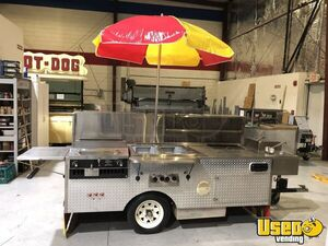 2015 - 3.75' x 8' Hot Dog / Food Vending Cart for Sale in Florida!!!
