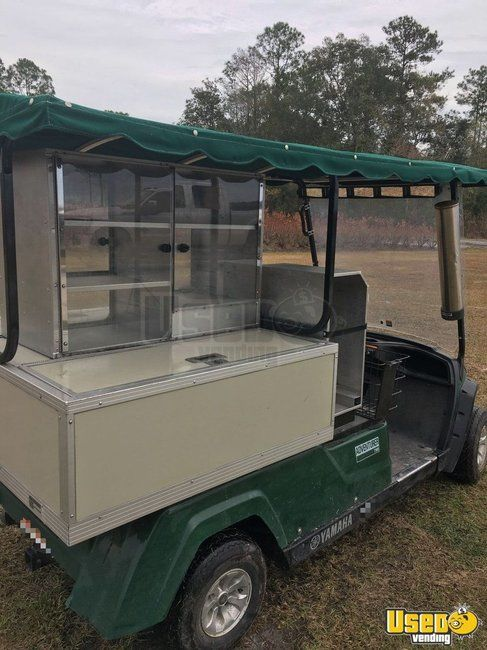 4' x 10.5' Food & Drink Vending Golf Cart for Sale in Georgia!!!