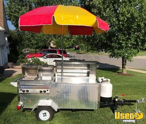 2017 - 4' x 10' Hot Dog, Food Vending Cart for Sale in Indiana, Barely Used!!!