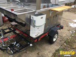 2016 - 3' x 5' Hot Dog / Street Food Vending Cart for Sale in Michigan!