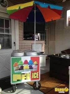 2.1' x 2.1' NEW Italian Ice Cart Ice Cream Vending Carts for Sale in New Jersey!