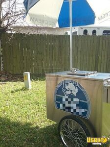 1.9' x 3' Ice Cream / Snack Vending Cart for Sale in Texas!!!