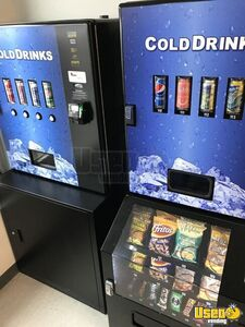 Lot of (11) 2016 Cashless Cooler Wall Mount Soda / Snack Vending Machines for Sale in Ontario!