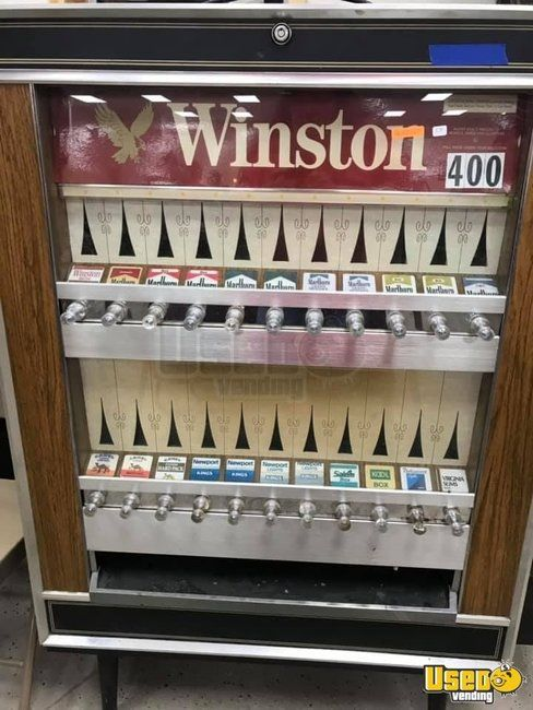 Vintage WINSTON Cigarette Vending Machine for Sale in West Virginia!