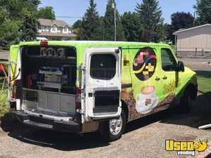 2012 Nissan NV1500 Cargo S Van 3D Used Coffee Truck w/ Commercial Equipment for Sale in Washington!