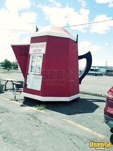 Coffee Concession Trailer Beverage - Coffee Trailer Air Conditioning Washington for Sale