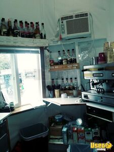 Coffee Concession Trailer Beverage - Coffee Trailer Commercial Blender / Juicer Washington for Sale