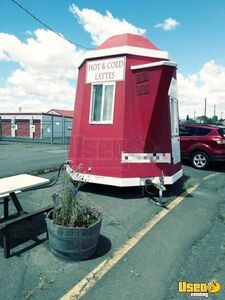 Coffee Concession Trailer Beverage - Coffee Trailer Concession Window Washington for Sale