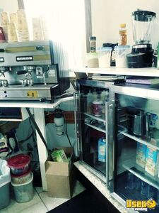 Coffee Concession Trailer Beverage - Coffee Trailer Ice Block Maker Washington for Sale